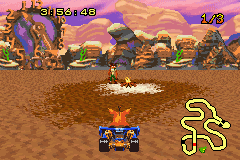 Crash Nitro Kart - now run into fake crash  - User Screenshot